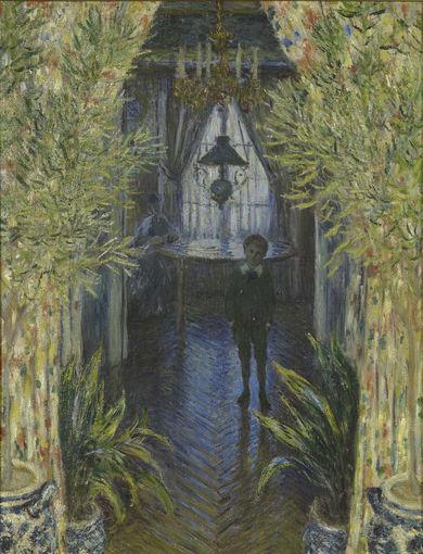 Un coin d'appartement (1875) - olio su tela; 81,5x60 cm; inv. RF 2776 - Paris, Musée d'Orsay - © RMN-Grand Palais (musée d'Orsay) /Martine Beck-Coppola