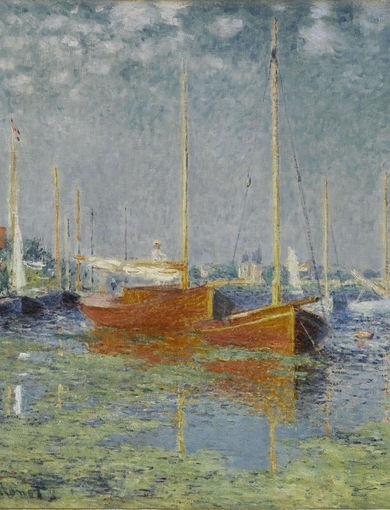 Argenteuil (1875) - olio su tela; 56x65 cm; inv. RF 1963 106 - Paris, Musée d'Orsay - © RMN-Grand Palais (musée d'Orsay) /Franck Raux