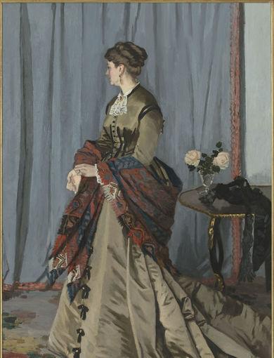 Madame Louis Joachim Gaudibert (1868) - olio su tela; 216,5x138,5 cm; inv. RF 1951 - Paris, Musée d'Orsay - © RMN-Grand Palais (musée d'Orsay) /Hervé Lewandowski