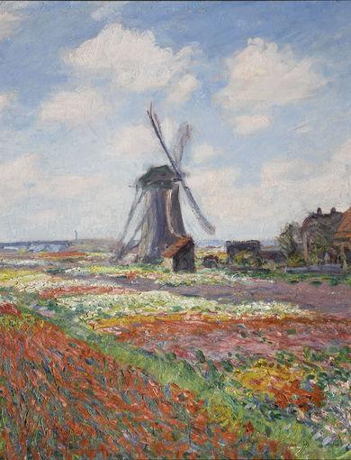 Champs de tulipes en Hollande (1886) - olio su tela; 65,5x81,5 cm; inv. RF 1944 - Paris, Musée d'Orsay - © RMN-Grand Palais (musée d'Orsay) /Franck Raux
