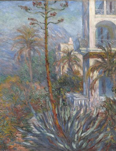 Les villas à Bordighera (1884) - olio su tela; 116,5x136,5 cm; inv. RF 2000 - Paris, Musée d'Orsay - © RMN-Grand Palais (musée d'Orsay) /Patrice Schmidt