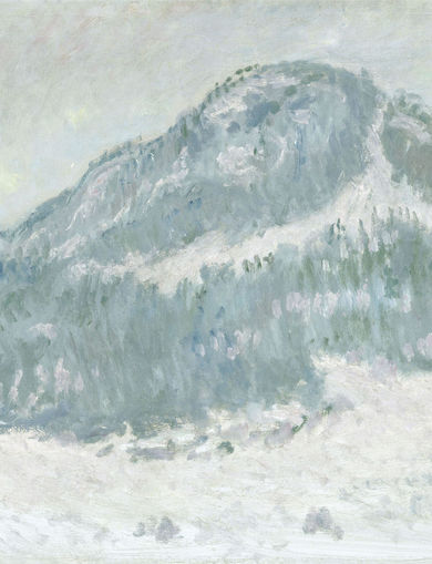 Le mont Kolsaas en Norvège (1895) - 65,5x100,5 cm; inv. RF 1967 - Paris, Musée d'Orsay - © RMN-Grand Palais (musée d'Orsay) /Hervé Lewandowski