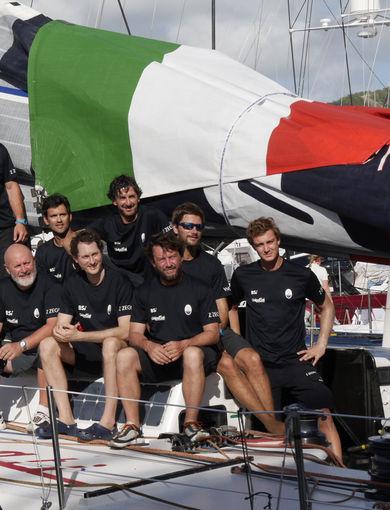 Il team di Maserati e Giovanni Soldini alla RORC Caribbean 600 Race