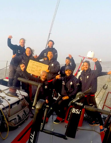 Arrivo linea -  Record  San Francisco‐Shanghai