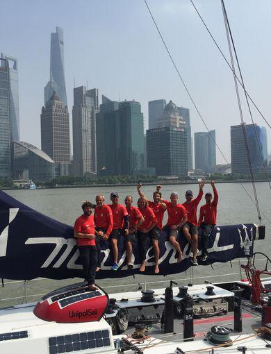 Arrivo marina -  Record  San Francisco‐Shanghai