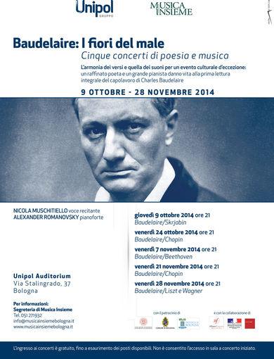 Baudelaire: I fiori del male Unipol e MUSICA INSIEME
