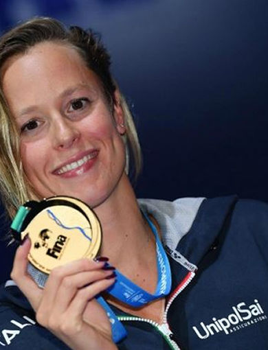 F. Pellegrini - gold medal 200 sl