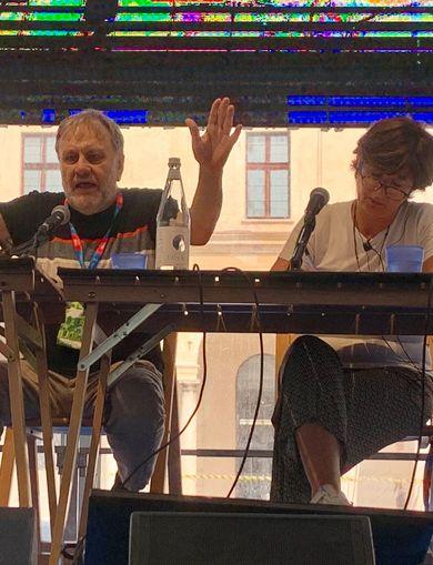 Zizek on stage