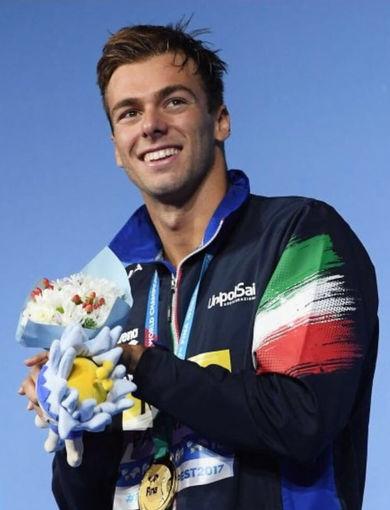 G. Paltrinieri - gold medal 1500 sl