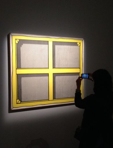 Roy Lichtenstein, opera prima