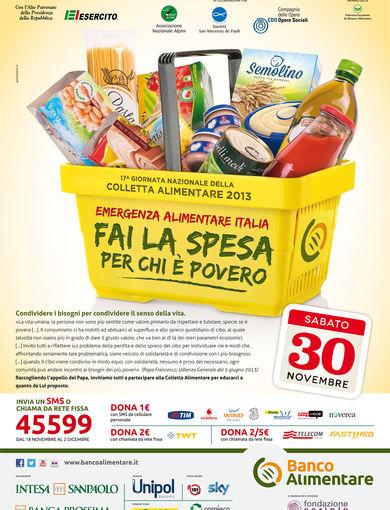 17^ giornata nazionale della colletta alimentare 2013
