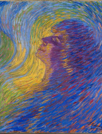 Luigi Russolo - Profumo, 1910 olio su tela - 65.5 x 67.5 cm - Mart, Museo di arte moderna e contemporanea di Trento e Rovereto Collezione / Collection VAF - Stiftung