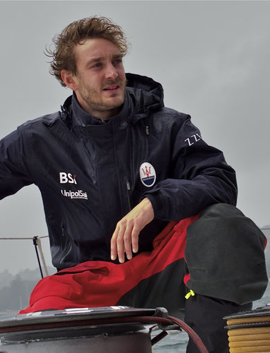 Pierre Casiraghi with Maserati and Giovanni Soldini for Rolex Sydney-Hobart Yacht Race